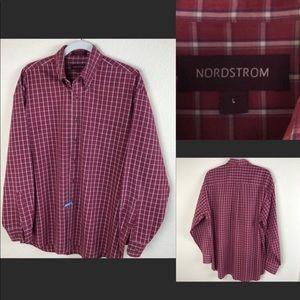 Nordstrom Button Down plaid shirt